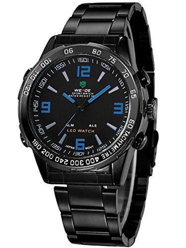 alienwork-dualtime-reloj-led-analogico-digital-multi-funcion-led-acero-inoxidable-negro-negro-oswh-1