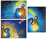 12 christliche Weihnachtskarten