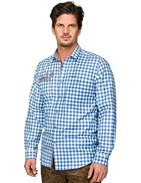 Stockerpoint Trachtenhemd Jim azur