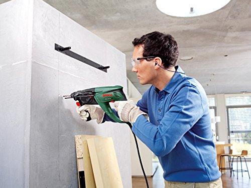 Bosch DIY Bohrhammer PBH 2800 RE, Flachmeißel, Tiefenanschlag, Zusatzhandgriff, Koffer (720 W, Bohr-Ø Beton 26 mm) - 3