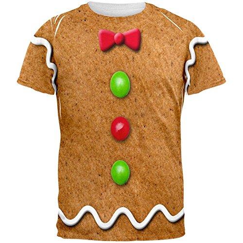 Lebkuchen Mann Kostüm aller Erwachsenen T-Shirt-groß