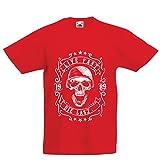 Kinder Jungen/Mädchen T-Shirt Lebe schnell - stirb zuletzt, Fahrradermine, Motorradbekleidung, Liebe zum Fahren, tolles Geschenk für Biker (12-13 Years Rot Mehrfarben)