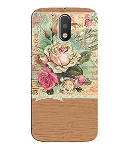 Citydreamz Floral Print/Beautiful Design Hard Polycarbonate Designer Back Case Cover For Motorola Moto G4 (4th Gen.)