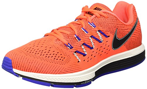 Nike Men's Air Zoom Vomero 10 Gym Shoes, Rouge / noir / Blanc (Total Crimson / Black-Sl-Rcr Bl), 7 UK