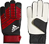 adidas Kinder Predator Young Pro Torwarthandschuhe, Black/Red/White, 9