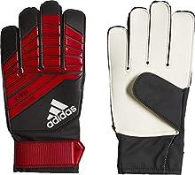 adidas Kids' Predator YP Goalkeeper Gloves, Black/Red/White, 8