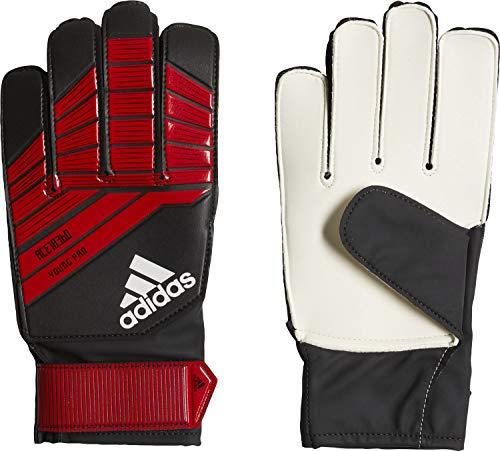 adidas Kinder Predator Young Pro Torwarthandschuhe, Black/Red/White, 5