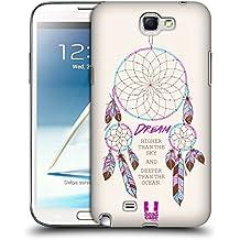 Head Case Designs Rêve Plus Haut Attrape- Rêves 2 Étui Coque D'Arrière Rigide Pour Samsung Galaxy Note 2 II N7100