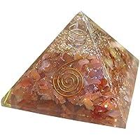 Energetische Pyramide mit Karneol Kristalle Heilung Kristall Reiki Stone Heilung von Wunder preisvergleich bei billige-tabletten.eu
