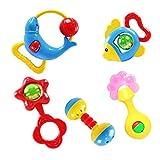 Tonsee® Animal Handbells Developmental Toy Bed Bells Kids Baby Baby Rattle Lovely