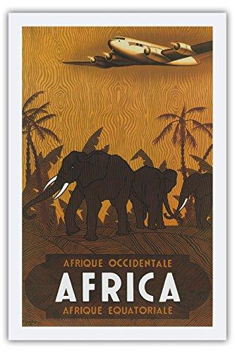 air-france-afrique-occidentale-west-africa-afrique-quatoriale-equatorial-africa-elephants-vintage-ai