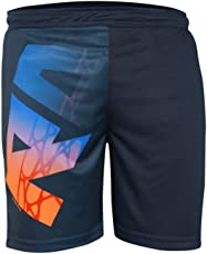 Head HPS-1078 Tennis Shorts, Large (Navy/Orange)