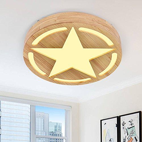 CLG-FLY Nordic led legno camera da letto
