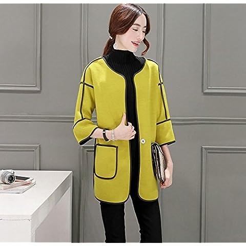 WZH causale di donne mostrano sottile tipo breve sciolto cappotti