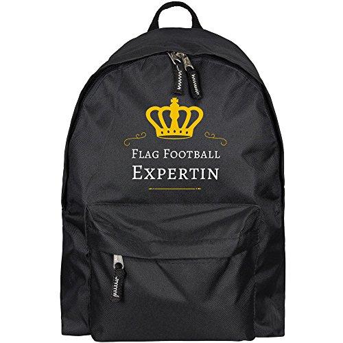 ll Expertin schwarz (Abschluss Garten Flag)