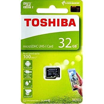 Toshiba M203/E4, 32 GB, microSDHC 32GB MicroSDHC UHS-I Clase ...