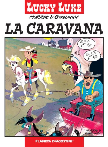 Lucky Luke nº 15 La caravana (Cómics Clásicos NO) por Morris