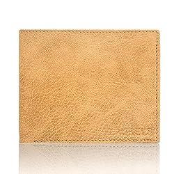 Laurels Imperial Beige Mens Wallet (LW-IMP-06)