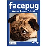 "PUGGO Pugs Art Collection, FACEPUG - Officially Licensed Pug Heavy Duty MAGNET - 2.5"" x 3.5"""