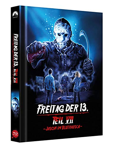 Freitag der 13. Teil 7 - Collectors Edition Mediabook (Cover D) [Blu-ray]