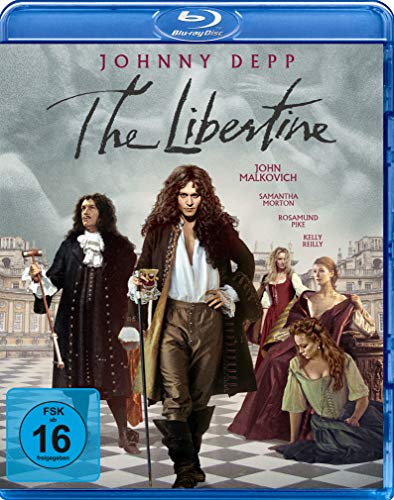 The Libertine - Sex, Drugs & Rococo [Blu-ray]