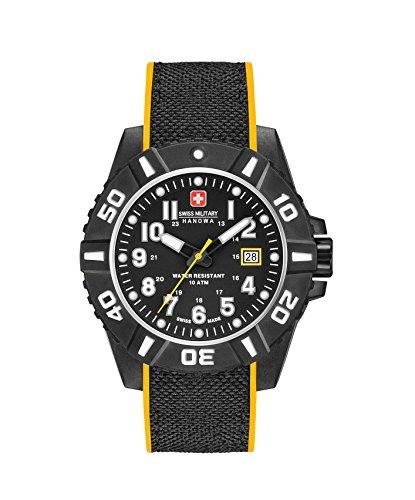 Swiss Military Reloj Análogo clásico para Hombre de Cuarzo con Correa en Silicona 06-4309.17.007.79SM