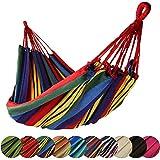 BB Sport Amaca Campeggio in Tessuto 220 x 170 cm Massima Portata 250 kg Disponibile in Molti Colori, Colore:Messico