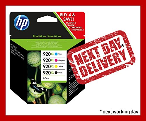 Preisvergleich Produktbild 4 x Original Tintenpatronen HP 920XL
