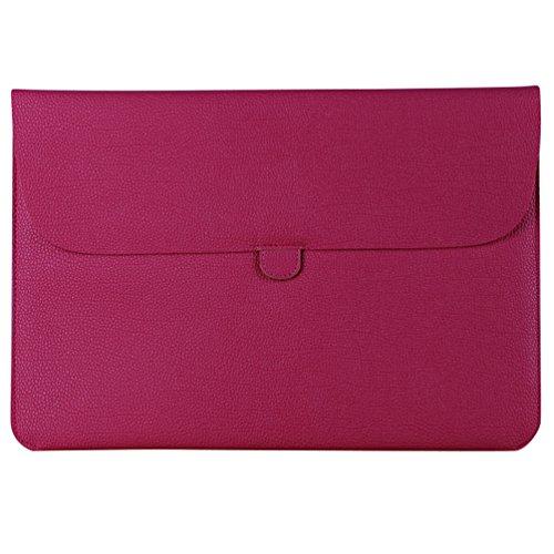 YiJee Laptophülle Notebooktasche Schutzhülle Hülle Sleeve Tasche 13.3 Zoll Rose
