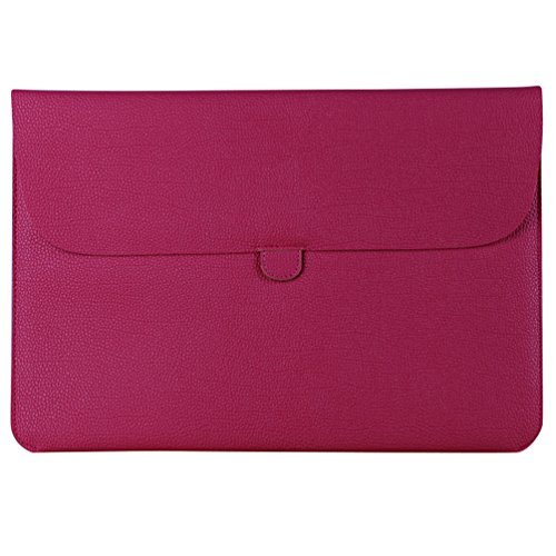 YiJee Laptop Sleeve Custodia Protettiva Borsa per Portatili Caso Portatile 15.4 Pollice Rose