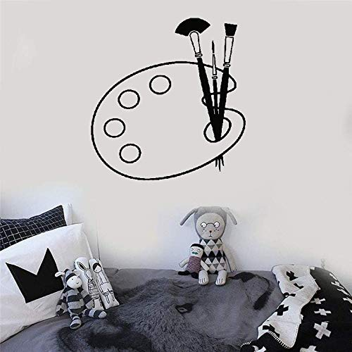 mer Malerei Pinsel Palette Teenager Raum Dekor Schlafzimmer Reine Farbe Dekoration ()