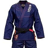 Venum Herren Challenger 3.0 Kimono Bjj Gi, Marineblau / Orange, A2