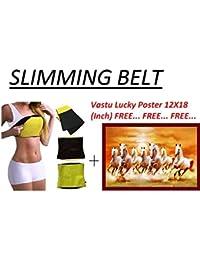 Best Quality Unisex Body Shaper for Women | Men Weight Loss Tummy - Body Shaper Belt Slimming Belt Waist Fitness Belt 3 mm XL Size 34,35,36,38,40 of Stomach Size consider