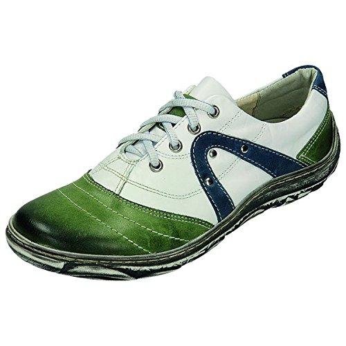 Sportif 200611 miccos shoes chaussures pour femme Vert - grün/weiss/blau