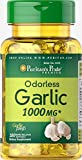Odorless Garlic / Ajo desodorizado/ 1000 mg / 100 Rapid Release Softgels