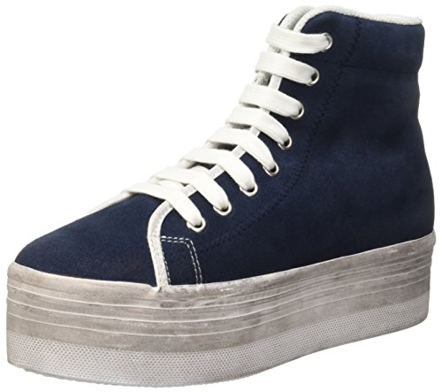 Jeffrey Campbell Homg Suede Wash, Scarpe da Cheerleader Donna, Blu (Navy), 38 EU