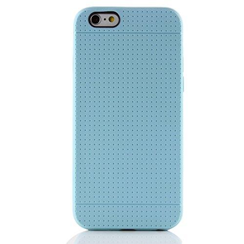 Apple iPhone 6 / 6s Handyhülle von original Urcover® [deutscher FACHHANDEL]in der TPU Point Edition iPhone 6 / 6s Schutzhülle Edel Silikon Case Cover Etui Hell Blau Hell Blau