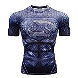 Herren Kurzarmshirts Avengers 3 Thor 3D Print T-Shirt Herren Kompressionshemd Cosplay Kostüm (Farbe : #21, größe : XL)