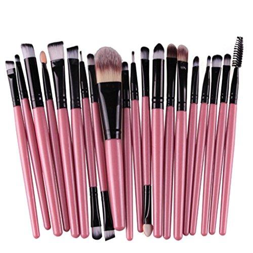 Tonsee® 20pcs / outils mis en brosse de maquillage Make-up Trousse de toilette Laine Make Up Brush Set