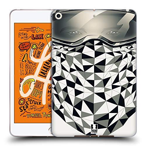 Head Case Designs Snowboarder Bandana Soft Gel Huelle kompatibel mit iPad Mini (2019) (Case Ipad Bandana Mini)