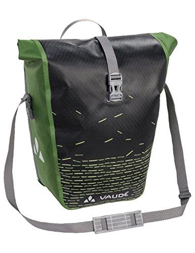 VAUDE Aqua Back Print Single Radtaschen, Black/Green, one Size