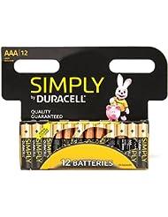 Duracells AAA 2400 Batteries - 12 Pack