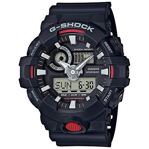 G-Shock Men\'s Analog-Digital GA700-1A Watch Black
