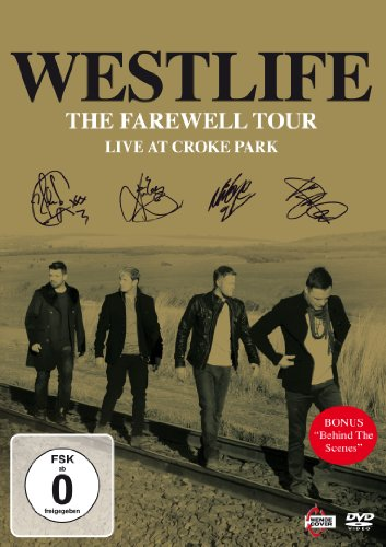 Westlife: The Farewell Tour - Live at Croke Parkt DVD (BBC)
