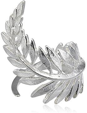 Wouters & Hendrix Damen-Ring Edelstahl 925 Sterling-Silber - Größe 57 (18.1)
