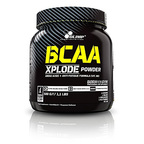 Olimp Labs Orange BCAA Xplode Recovery and Energy Supplement Powder, 500g