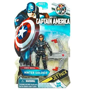 Captain America 3,75 Figurine - Winter Soldier