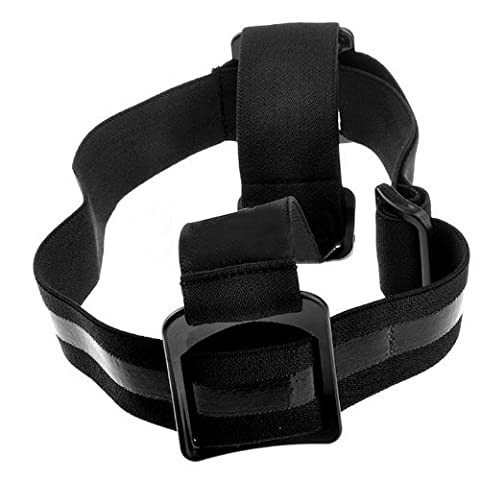 Band Stand ST24Adjustable Elastic Strap Black for Head or Super Resistant Ideal For GoPro HD Hero 233+ Gopro Helmet HERO Wide Helmet, Motorsports Hero Wide, Motorsports Hero, Surf Hero, and Wide Hero
