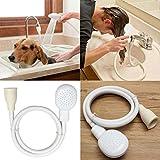 FAVOLOOK Spüle Bad Armatur Dusche Kopf Schlauch Spray Abläufe Sieb Friseur Supplies Pet Badezimmer Supplies