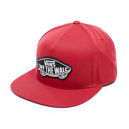 Vans Apparel Herren Baseball Cap Classic Patch Snapback, Rot (Chili Pepper 14A), One Size
